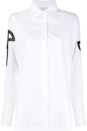 Patou Logo cuff shirt