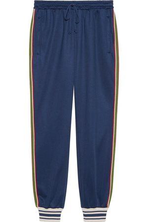 Gucci Men Sweatpants - Web stripe-trim track pants