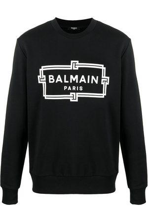 Balmain Box logo print sweatshirt