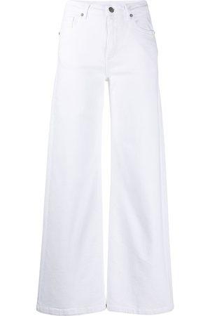 P.a.r.o.s.h. Women Wide Leg - Wide-leg five-pocket jeans