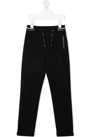 Givenchy Boys Sweatpants - Two-tone drawstring track pants