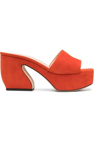 Si Rossi Slip-on heeled sandals