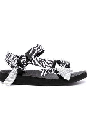 Arizona Love Chunky two-tone sandals