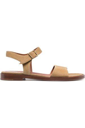MICHEL VIVIEN Caye low-heel sandals - Neutrals