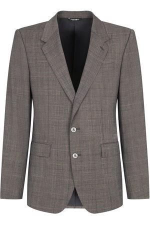 Dolce & Gabbana Button-front blazer - Grey