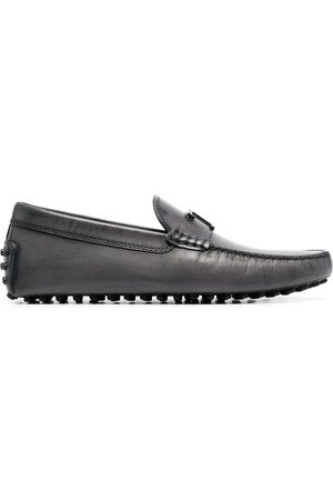 Tod's Men Loafers - Gommino driving loafers - Grey