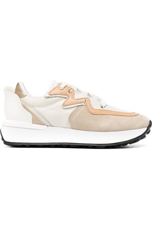 LE SILLA Petalo Running panelled sneakers - Neutrals