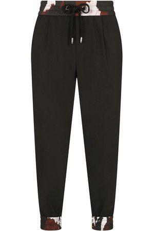 Dolce & Gabbana Pattern-trim track pants