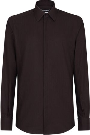 Dolce & Gabbana Concealed button shirt