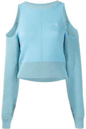 Ground Zero Open-shoulder sweater