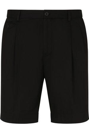 Dolce & Gabbana Men Bermudas - Straight-leg Bermuda shorts