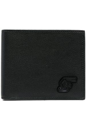 Salvatore Ferragamo Grained calf leather appliqué wallet