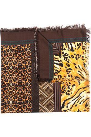 PIERRE-LOUIS MASCIA Aloeuw animal-print silk scarf