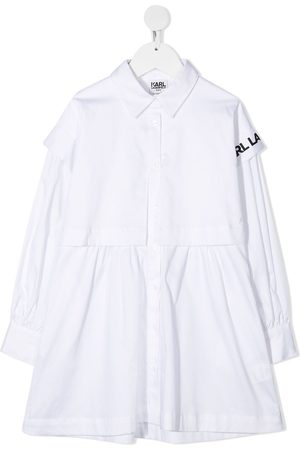 Karl Lagerfeld Girls Casual Dresses - Mini Me poplin shirt dress