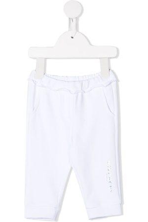 Givenchy Holographic logo-print track pants
