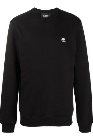Karl Lagerfeld Men Sweatshirts - Ikonik rubber patch T-shirt