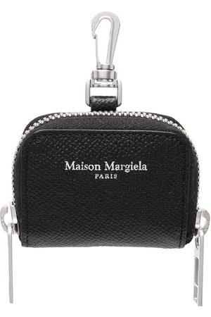 Maison Margiela Logo print coin wallet