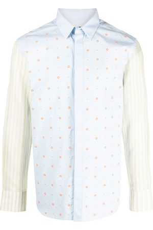 Viktor & Rolf Two-tone button-up shirt