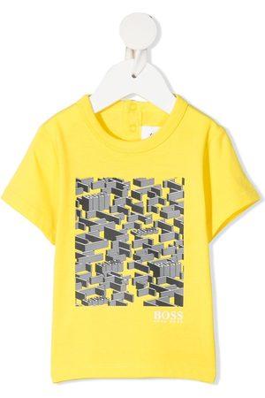 HUGO BOSS Short Sleeve - Graphic print short-sleeved T-shirt