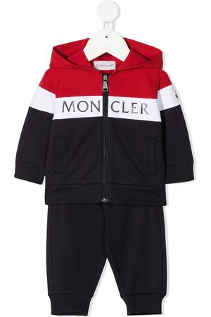 Moncler Sets - Colour-block logo tracksuit set