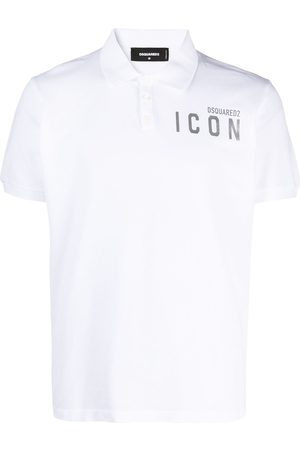 Dsquared2 Men Polo Shirts - Icon short-sleeve polo shirt
