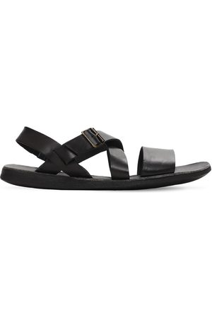 Brador Leather Sandals W/ Elastic