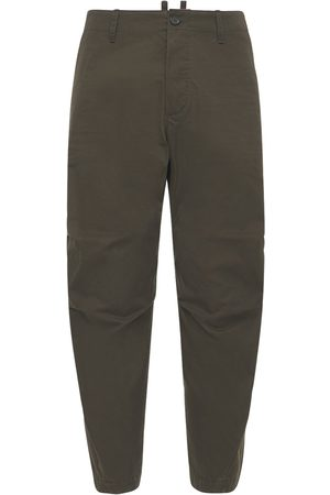 Dsquared2 18cm Skipper Cotton Twill Pants