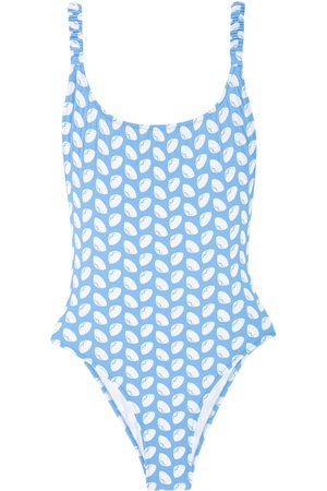 Fisch Select Printed One Piece Swimsuit