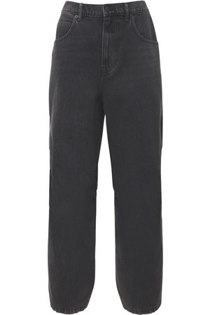 Alexander Wang Women Boyfriend Jeans - Nylon & Denim Baggy Jeans