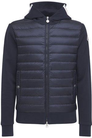 Moncler Nylon Down Sweatshirt