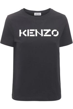 Kenzo Women T-shirts - Logo Jersey T-shirt