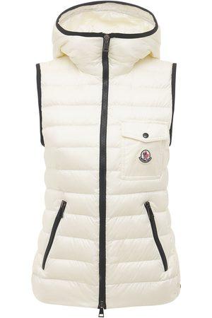 Moncler Women Gilets - Glyco Nylon Down Vest