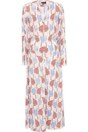 Isabel Marant Women Printed Dresses - Bagenia printed midi dress
