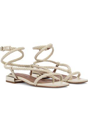 Souliers Martinez Women Sandals - Amanecer 45 braided leather sandals