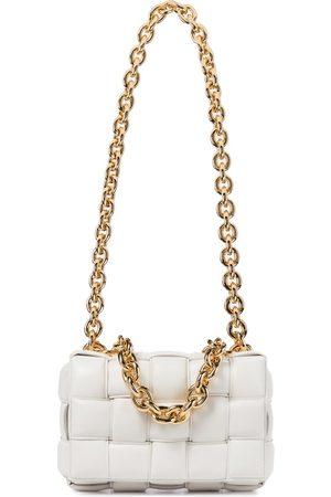 Bottega Veneta Women Shoulder Bags - The Chain Cassette leather shoulder bag