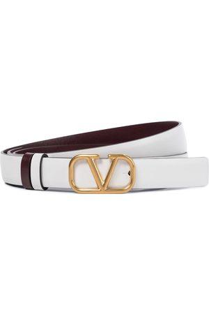 VALENTINO GARAVANI Women Belts - VLOGO reversible leather belt