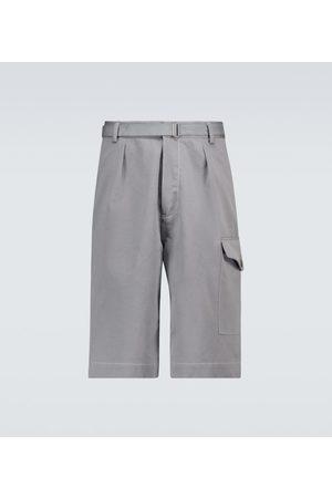 Auralee Washed Finx chino shorts