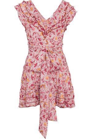 POUPETTE ST BARTH Della floral minidress