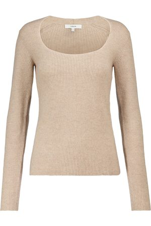 Vince Ribbed-knit cashmere sweater
