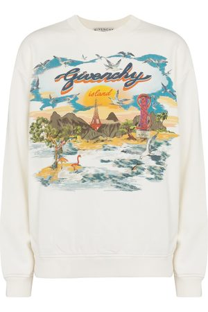 Givenchy Printed cotton jersey sweatshirt