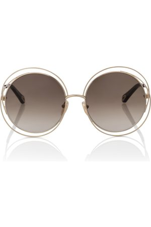 Chloé Carlina round sunglasses