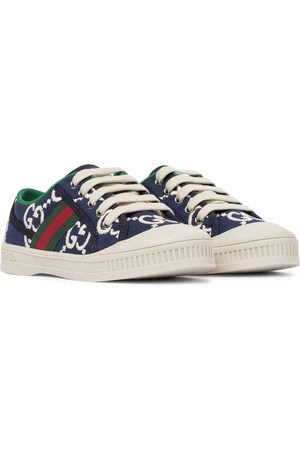 Gucci Gucci Tennis 1977 canvas sneakers