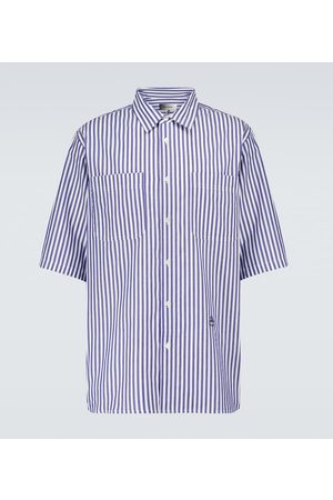 Isabel Marant Jarlow striped cotton shirt