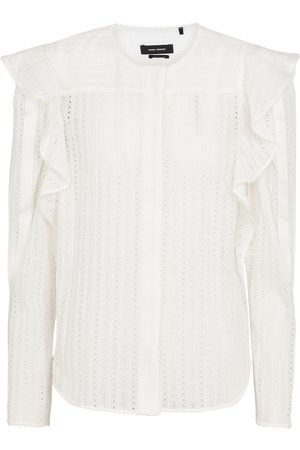 Isabel Marant Getylia cotton-blend blouse