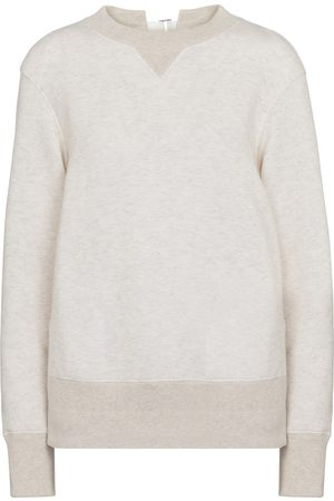 SACAI Cotton-blend sweatshirt