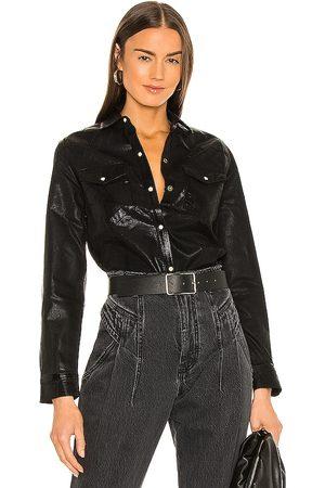 AllSaints Women Long sleeves - Hazel Coated Shirt in .