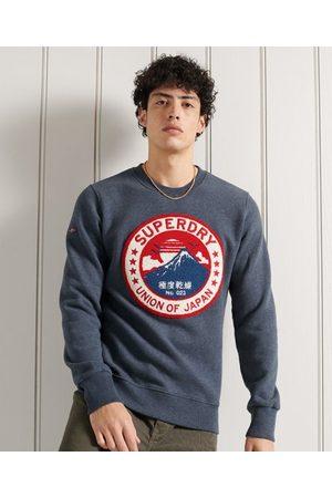 Superdry Men Sweatshirts - Limited Edition Chenille Patch Crew Sweatshirt