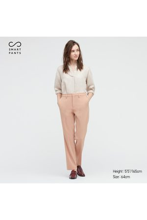 UNIQLO Women's Smart 2-Way Stretch Solid Straight Pants, , size 0