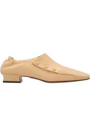 MANU Women Loafers - Buttoned Duck loafers
