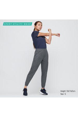 UNIQLO Women Stretch Pants - Women's Ultra Stretch Active Jogger Pants, Gray, XXS